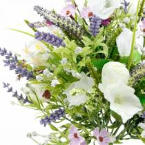 Ramo artificial, decoraciones de mesa, flores de seda, ramo de primavera colorido
