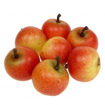Manzanas de frutas artificiales Cox 3.5cm 24pcs