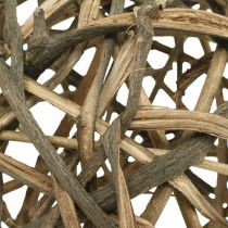 Bola decorativa madera de vid natural Ø15cm