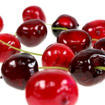 Mezcla de cerezas dulces de frutas artificiales Ø2.5cm 24pcs