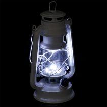 Linterna LED regulable blanco cálido 24.5cm con 15 lámparas