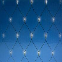 Red de luz LED 180 blanco cálido 2m x 2m para exterior