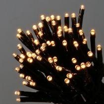Cadena de luz LED de arroz para exterior 480er 36m negro / blanco cálido
