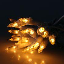 Mini cadena LED 20L blanco cálido blanco 3m