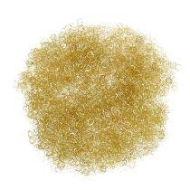 Oropel metalizado oro rizado 50g