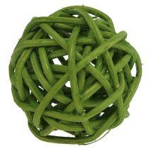 Lataball 3cm verde blanqueado 72pcs