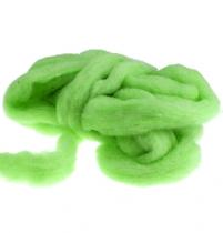 Alfombra de lana 10m verde