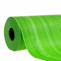Puño de papel verde 25cm 100m
