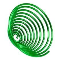 Tornillo de alambre de metal tornillo verde manzana 2 mm 120 cm 2 piezas