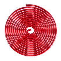 Tornillo de alambre de aluminio tornillo de metal rojo 2 mm 120 cm 2 piezas