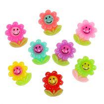Mini flores para pegar 2cm 24pcs