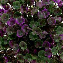 Mini-bola violeta con flores Ø12cm 1pc