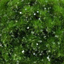 Bola de musgo con mica Ø9cm verde