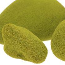 Mezcla de piedras de musgo verde 5.5-13cm 12pcs