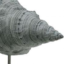 Figura de jardín concha en el soporte A30cm
