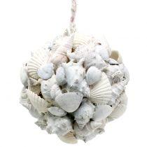 Bola de concha blanca Ø10cm