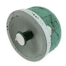 Espuma para urnas con soporte de enchufe grande Ø10.5cm 3 piezas