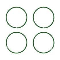 Anillos de clavel 19mm 1kg pintados de verde