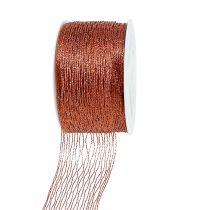 Cinta de red de alambre de cobre reforzado 40mm 15m