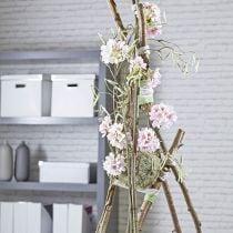 Bola de espuma floral pasta seca gris Ø16cm 2pcs