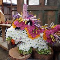 Espuma floral unicornio 68cm x 60cm