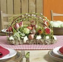 Decoración de mesa de ladrillo de espuma floral 29cm x 12cm x 8.5cm 4pcs