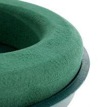 Anillo compuesto enchufable espuma enchufable con carcasa verde Ø30cm H4.5cm 2pcs