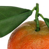 Naranja con hoja 7cm 4pcs