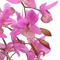 Orquídea en maceta violeta A55cm