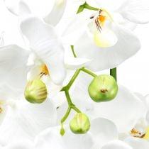 Orquídeas artificiales para maceta blanca 80cm