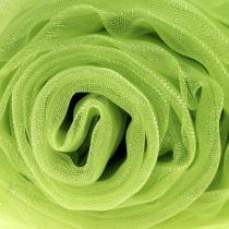 Tela decorativa organza verde 150cm x 300cm