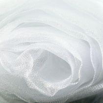 Tela decorativa organza blanca 150cm x 300cm