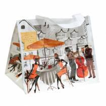 Bolsa de compras con asas Bella Vita plástico 32 × 21 × 26cm