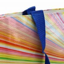 Bolsa de compras con asas de plástico Mikado 37 × 10 × 40cm