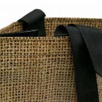 Bolsa de compras con asas Nature plastic 40 × 20 × 40cm