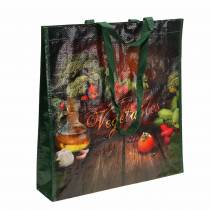 Bolsa de compras con asas Plástico vegetal 38 × 10 × 39cm
