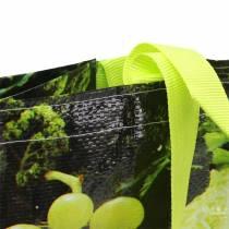 Bolsa de compras con asas de plástico Vitale 38 × 20 × 39cm