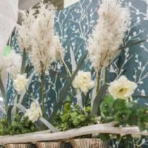 Hierba de la pampa Hierbas secas artificiales blancas Plantas artificiales