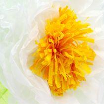Flor de papel de 28cm para colgar. 2ª