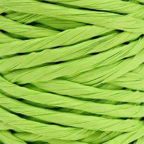 Cordón de papel 6mm 23m verde manzana