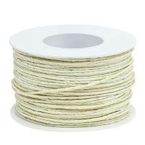 Cable de papel envuelto en champán Ø2mm 100m