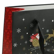 Bolsa de regalo Bolsa de papel Christmas village H30cm 2pcs