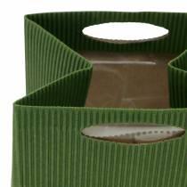 Bolsa de papel maceta maceta verde Mix 10,5cm 12pcs