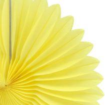 Party Deco Honeycomb Paper Flower Amarillo Ø20cm 3pcs
