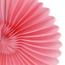 Decoración de fiesta panal flor de papel Ø20cm 3pcs
