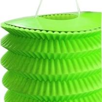 Linterna de papel verde 10cm H13cm 8pcs