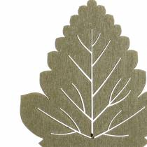 Planta enchufe hoja 8-10cm naturaleza / verde / morado 24pcs