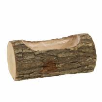 Jardinera de madera de olmo 20cm x 11cm H9cm