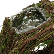 Guirnalda de plantas naturaleza 28cm x 30cm