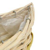 Cesta de siembra con ola de 3 40/48 / 60cm
